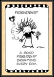 Friendship Wallet Card