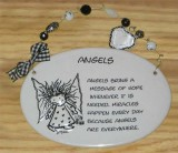 Angels Ceramic Plaque
