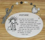 Mother Ceramic Plaque