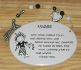 Nurse Ceramic Plaque