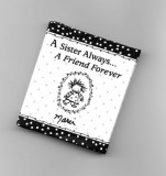 A Sister Always... A Friend Forever Mini Book