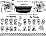 Magnetic Character Frame Kit