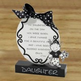 Daughter 2 D Plaque