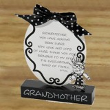Grandmother 2 D Plaque