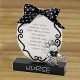 Nurse 2 D Plaque