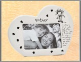 **Mother Heart Shaped Frame