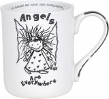 Angels Are Everywhere Christmas Mug