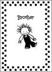 Brother Greeting Card