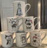 All 6 Christmas Mugs Special Pricing