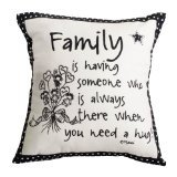 Family Pillow 12 X 12
