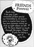 Friends Forever Easel Plaque