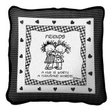 Tapestry Friends Pillow 14x14