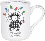Love Lights The World Christmas Mug