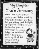 My Daughter, You're Amazing Magnet