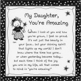 My Daughter, You're Amazing 5 X 5 Mini Print with Envelope