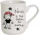 Now Is The Season For Sharing Christmas Mug
