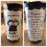 Hugs Tumbler With Lid