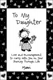 *To My Daughter Book