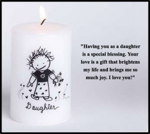 Daughter Candle