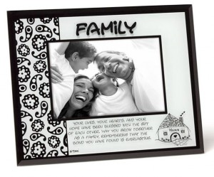 *Family Glass Frame