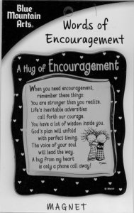 Words of Encouragement Magnet