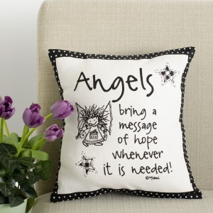 Angel Pillow 12 X 12