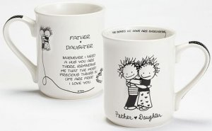 Father Daughter Mug