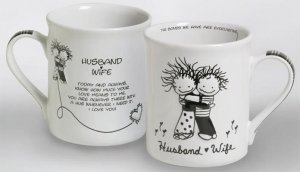 Husband Wife Mug